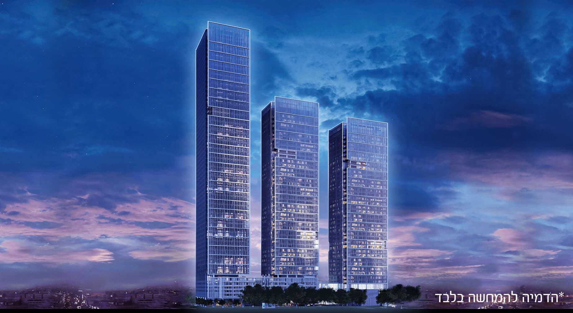 מגדלי LYFE (לייף) – קומפלקס של משרדים יוקרתיים המורכב מ-3 מגדלים מודרניים: 34, 36 ו-51 קומות.